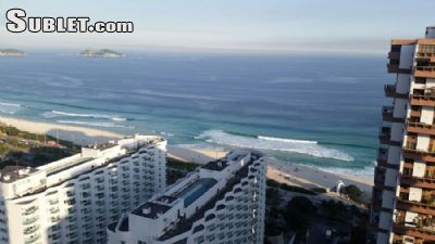Image 1 furnished 1 bedroom Apartment for rent in Barra da Tijuca, Rio de Janeiro City