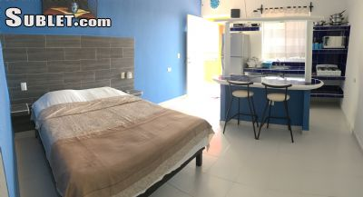 Image 3 furnished Studio bedroom Apartment for rent in Cancun, Quintana Roo
