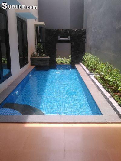 Image 1 either furnished or unfurnished 4 bedroom House for rent in Central Jakarta, Jakarta