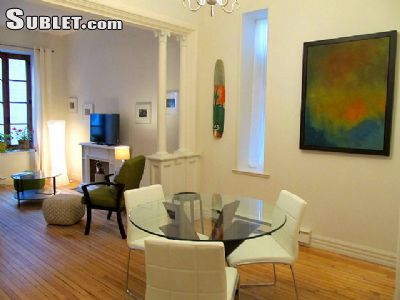 Image 1 furnished 1 bedroom Apartment for rent in Saint Roch, Quebec City