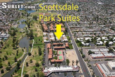 Image 1 furnished 1 bedroom Apartment for rent in Scottsdale Area, Phoenix Area