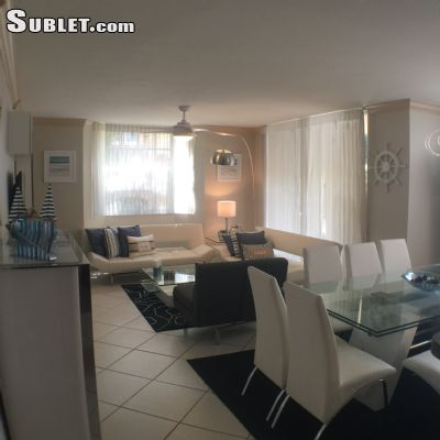 Image 2 furnished 3 bedroom Apartment for rent in Aventura, Miami Area