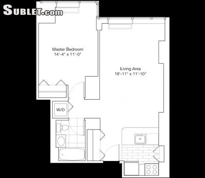 Image 1 Furnished room to rent in Midtown-West, Manhattan 1 bedroom Apartment
