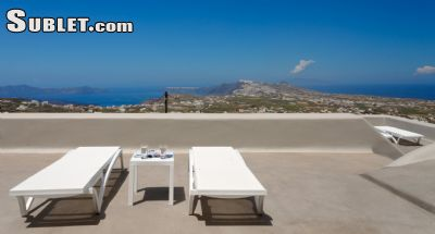 Image 2 furnished 2 bedroom Apartment for rent in Santorini, Cyclades