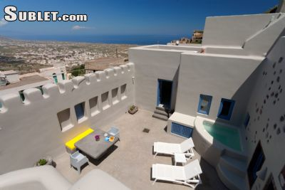 Image 3 furnished 2 bedroom Apartment for rent in Santorini, Cyclades