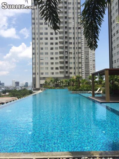 Image 1 furnished 2 bedroom Apartment for rent in District 7, Ho Chi Minh City