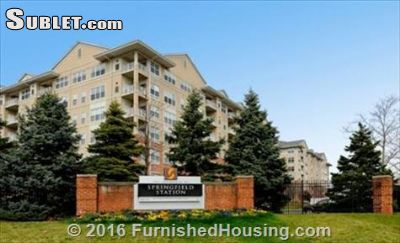 Image 2 either furnished or unfurnished 1 bedroom Apartment for rent in Springfield, DC Metro