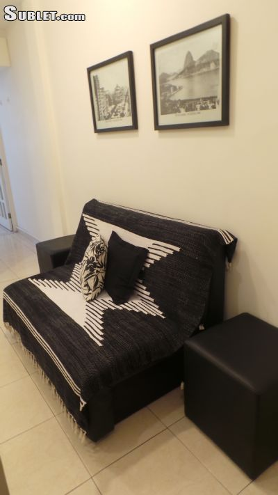 Image 4 either furnished or unfurnished Studio bedroom Apartment for rent in Copacabana, Rio de Janeiro City