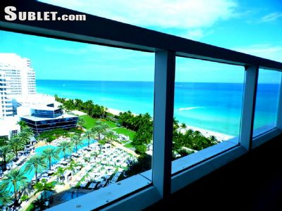 Image 1 furnished 1 bedroom Hotel or B&B for rent in Miami Beach, Miami Area