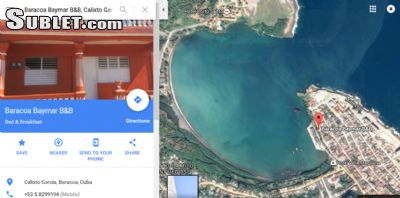 Image 10 furnished 1 bedroom Hotel or B&B for rent in Baracoa, Guantanamo