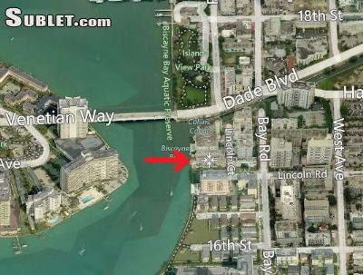Image 1 unfurnished Studio bedroom Apartment for rent in Miami Beach, Miami Area