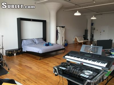 Image 5 furnished Studio bedroom Loft for rent in Clinton Hill, Brooklyn