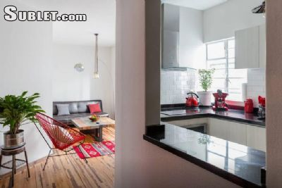 Image 1 furnished 2 bedroom Apartment for rent in Cuauhtemoc, Mexico City