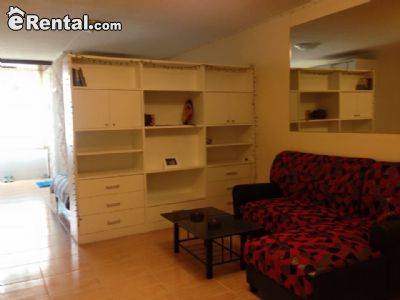 Image 1 furnished Studio bedroom Apartment for rent in Chiang Mai, North Thailand