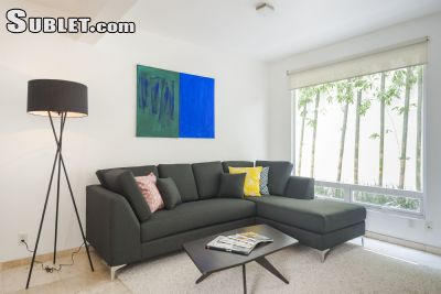 Image 3 furnished 1 bedroom Apartment for rent in Cuauhtemoc, Mexico City