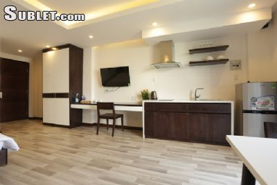 Image 4 furnished Studio bedroom Apartment for rent in Ngu Hanh Son, Da Nang