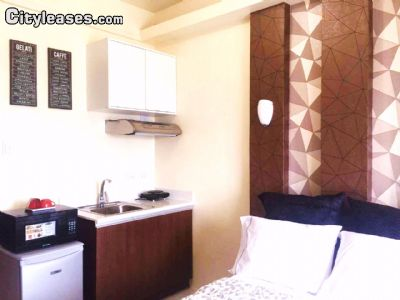 Image 2 furnished Studio bedroom Apartment for rent in Manila, National Capital