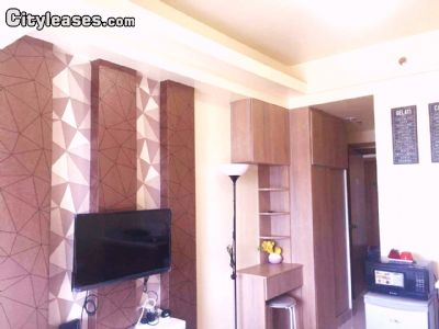 Image 3 furnished Studio bedroom Apartment for rent in Manila, National Capital