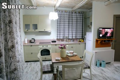 Image 2 furnished Studio bedroom Apartment for rent in Gorgolainis, Heraklion