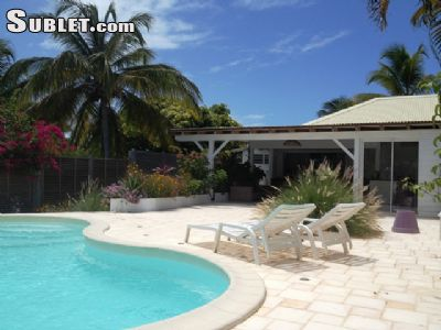 Image 1 furnished 3 bedroom House for rent in Sainte Anne, Guadeloupe