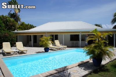 Image 2 furnished 3 bedroom House for rent in Sainte Anne, Guadeloupe