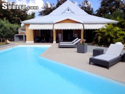 Image 3 furnished 3 bedroom House for rent in Sainte Anne, Guadeloupe