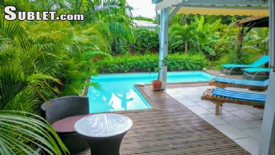 Image 5 furnished 3 bedroom House for rent in Sainte Anne, Guadeloupe