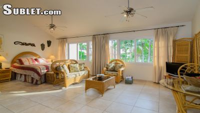 Image 1 furnished Studio bedroom Apartment for rent in Cabarete, North Dominican
