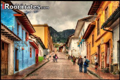 Image 3 Furnished room to rent in La Candelaria, Bogota 4 bedroom Apartment