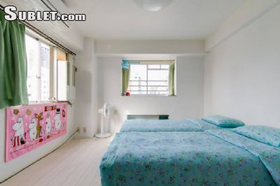 Image 1 furnished Studio bedroom Apartment for rent in Naniwa, Osaka City