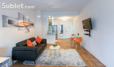 Image 1 furnished 1 bedroom Apartment for rent in Upper West Side, Manhattan
