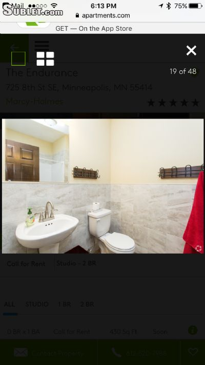 Image 5 unfurnished 2 bedroom Apartment for rent in Minneapolis University, Twin Cities Area