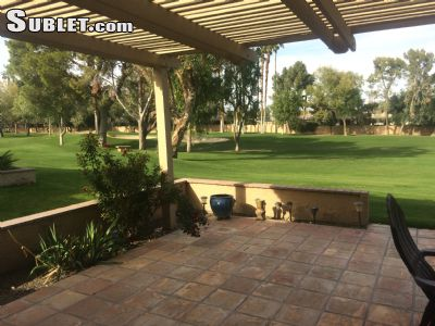 Image 3 furnished 2 bedroom Townhouse for rent in Palm Desert, Southeast California