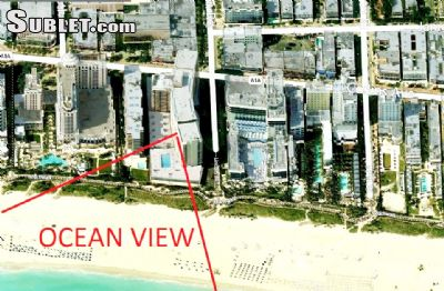 Image 1 unfurnished Studio bedroom Apartment for rent in South Beach, Miami Area