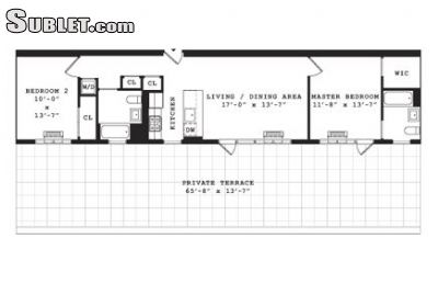 Image 1 unfurnished 2 bedroom Apartment for rent in Greenpoint, Brooklyn