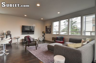 Image 2 furnished 3 bedroom House for rent in Fremont, Seattle Area