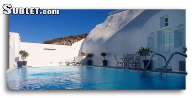 Image 1 furnished 2 bedroom House for rent in Santorini, Cyclades