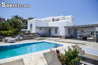Image 1 furnished 5 bedroom House for rent in Mykonos, Cyclades