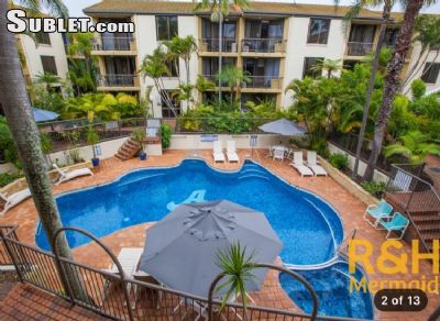 Image 1 furnished 1 bedroom Apartment for rent in Burleigh Heads, Gold Coast