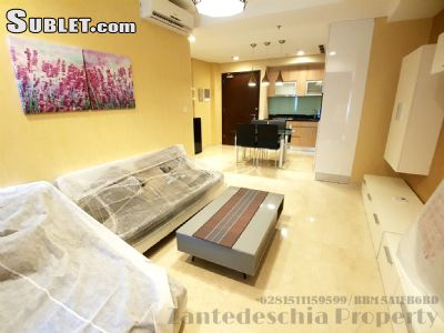 Image 2 furnished 2 bedroom Apartment for rent in South Jakarta, Jakarta