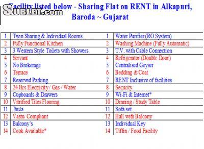 Image 5 Furnished room to rent in Vadodara, Gujarat 2 bedroom Apartment