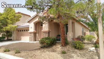Image 1 furnished 3 bedroom House for rent in Summerlin, Las Vegas Area