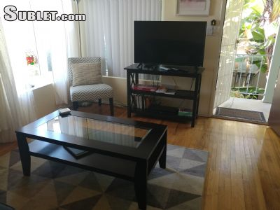 Image 2 furnished 1 bedroom Apartment for rent in Mission Hills, Western San Diego