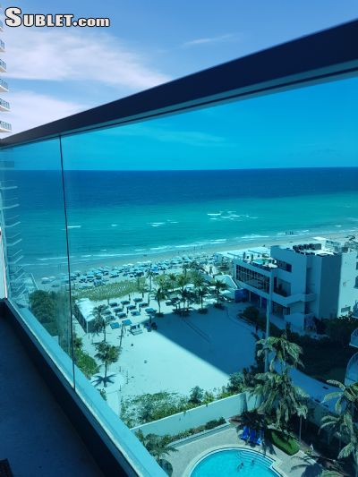 Image 1 furnished 1 bedroom Apartment for rent in Hollywood, Ft Lauderdale Area