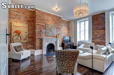 Image 1 furnished 2 bedroom Apartment for rent in Vieux Quebec, Quebec City