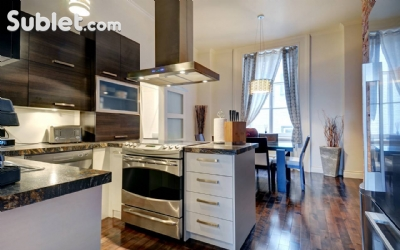 Image 4 furnished 2 bedroom Apartment for rent in Vieux Quebec, Quebec City