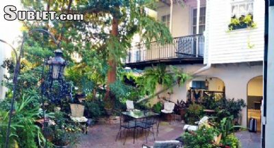 Image 1 furnished 1 bedroom Apartment for rent in French Quarter, New Orleans Area