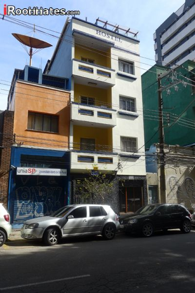 Image 3 Furnished room to rent in Liberdade, Sao Paulo City Studio bedroom Hotel or B&B