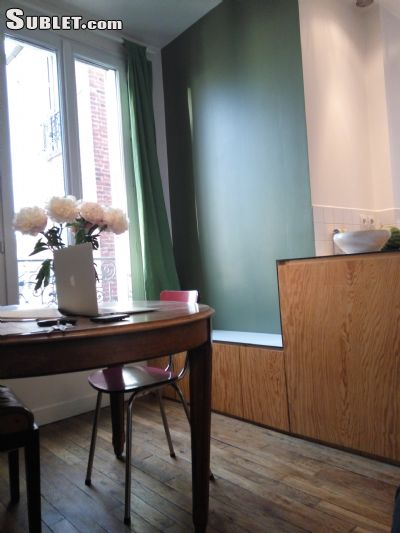 Image 1 furnished 1 bedroom Apartment for rent in Saint-Ouen, Seine-Saint-Denis