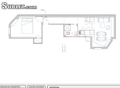 Image 4 furnished 1 bedroom Apartment for rent in Saint-Ouen, Seine-Saint-Denis